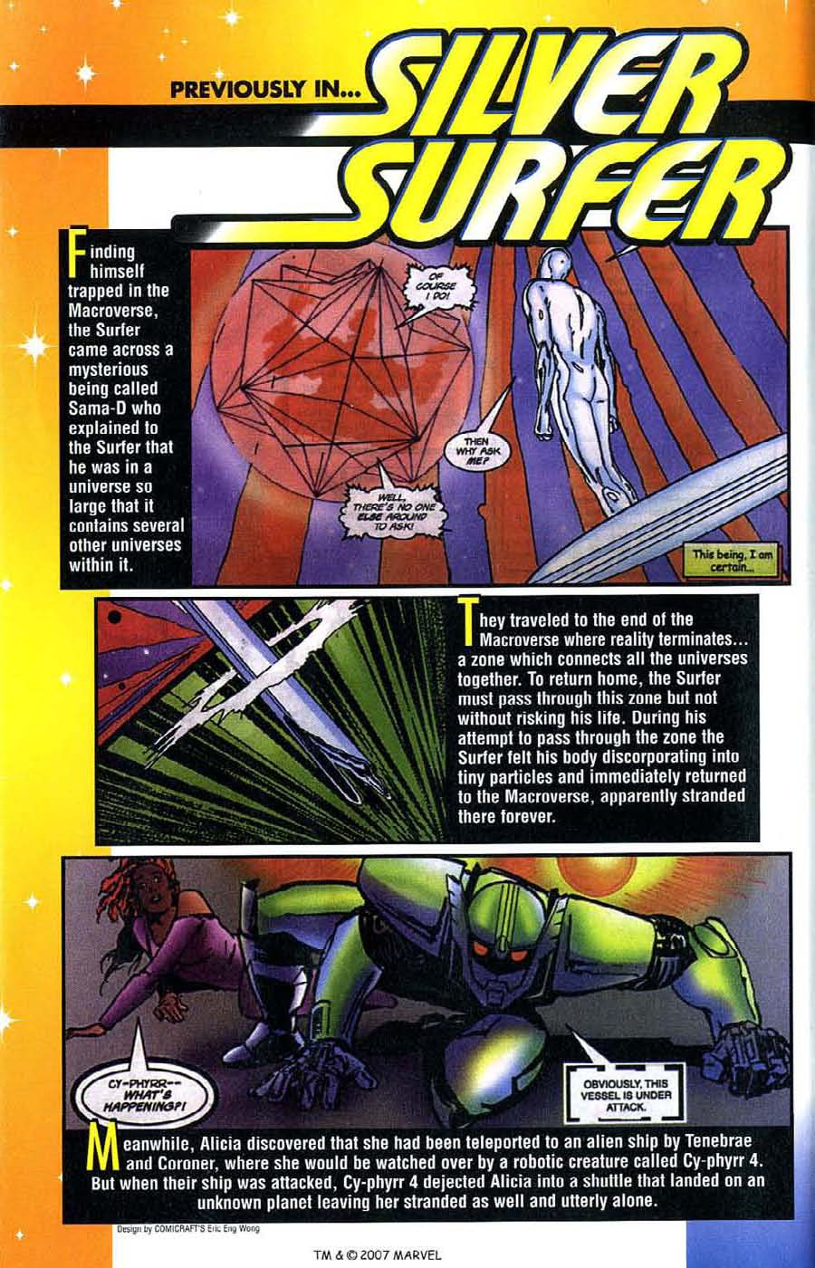 Read online Silver Surfer (1987) comic -  Issue #142 - 3