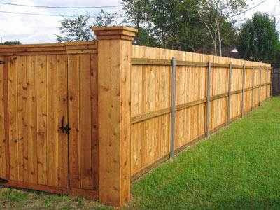 wood fence design tips