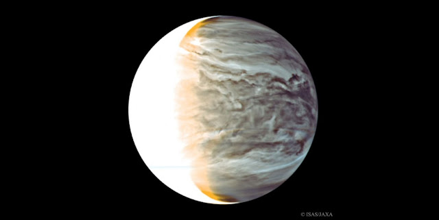 Venus seen by Akatsuki spacecraft. Credit: ISAS/JAXA