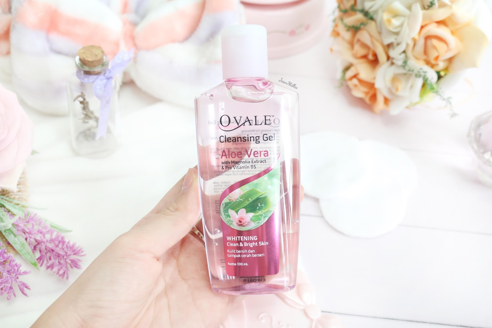 New Ovale Cleansing Gel Whitening Review Jean Milka Hair Vitamin Makeup Remover