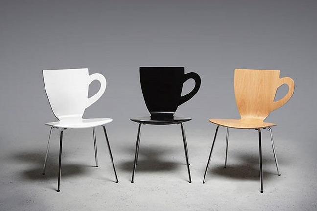 Desain Kursi Cafe Unik Paling Keren