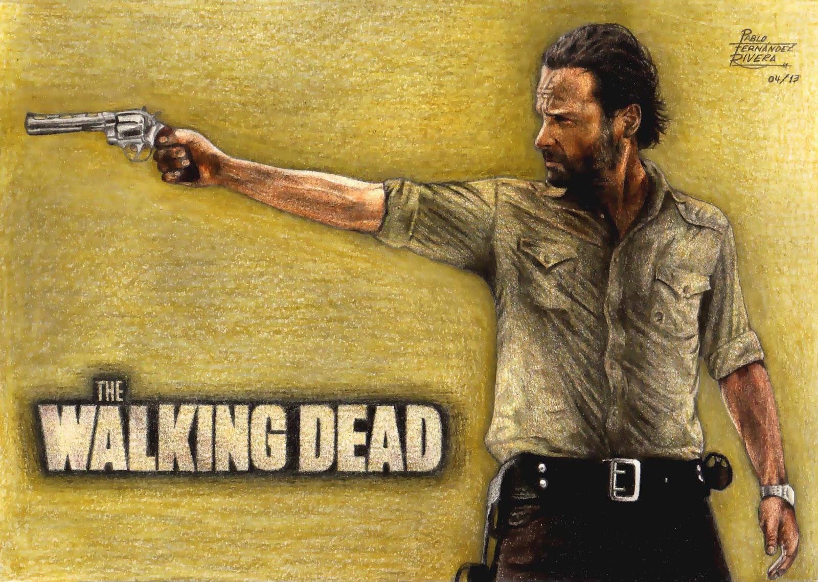 Mis Dibujos: The Walking Dead