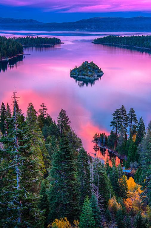 Lake Tahoe, Sierra Nevada, California