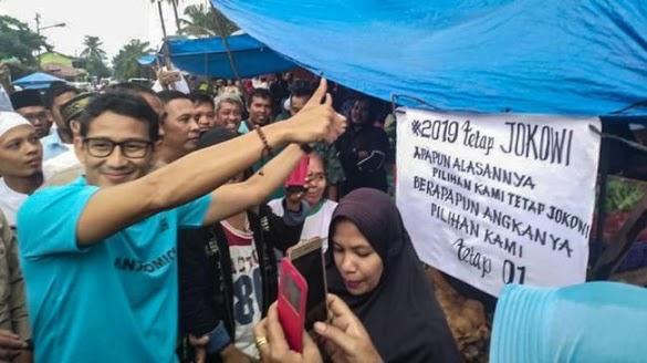 Sempat Ditolak di Pasar, Sandi Bantah Bersandiwara