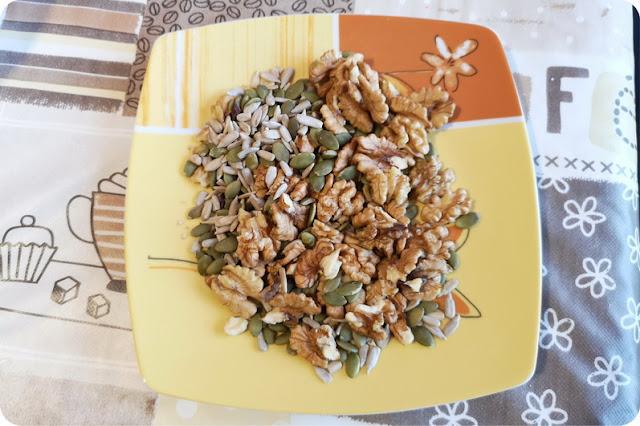 merende a base di semi golosi