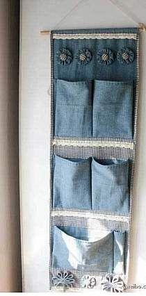Ideas Para Reciclar Bolsas De Jeans O Pantalones De