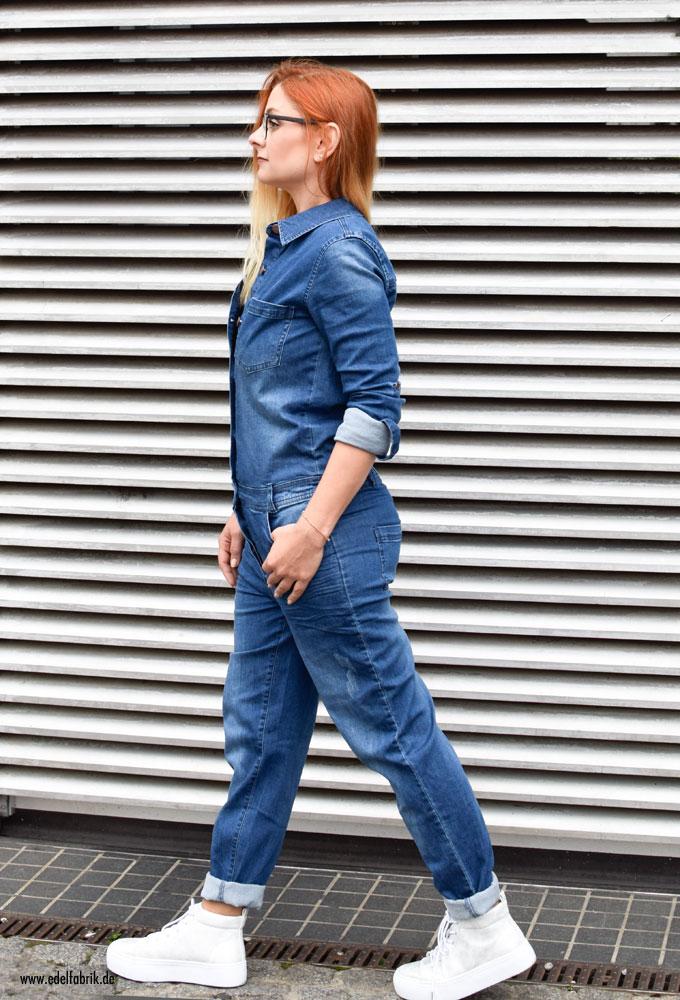 DerJeansoverall von Heidi Klum, Jeans Jumpsuit Heidi Klum