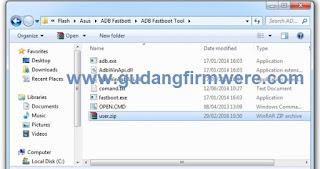 Cara Flash Firmware Asus Zenfone Go X00AD-ZB550KL