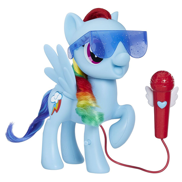 singing rainbow dash my little pony speelgoed