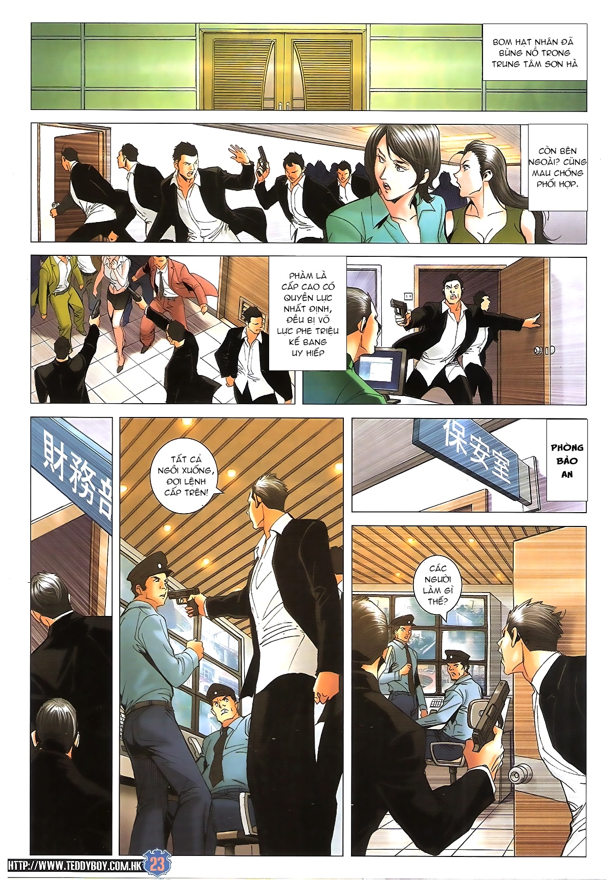 Người Trong Giang Hồ - Chapter 1617: Bức Cung - Pic 20
