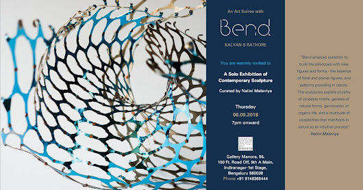 Art News: 'Bend' - A solo exhibition of contemporary sculptures by Kalyan S Rathore