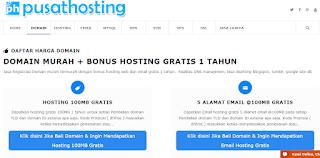 pusathosting.com adalah penyedia paket web hosting murah