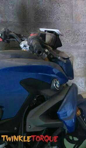 TVS-BMW G310r's spy-shots Twinkle Torque