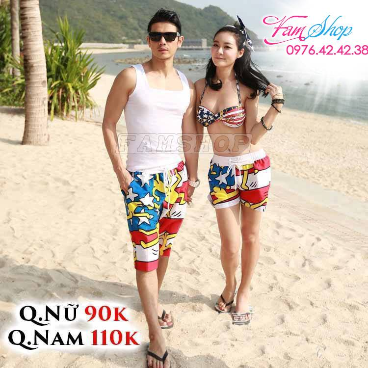 Quan ao di bien o Thanh Tri