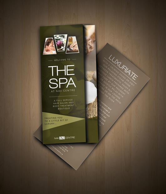 15 spa brochures sample templates.html