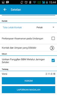 BBM v2.11.0.18 Apk Terbaru Gratis