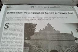 Mengintip Pesanggrahan Sultan di Taman Sari