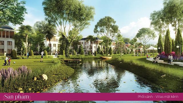 Villas mặt kênh sinh thái