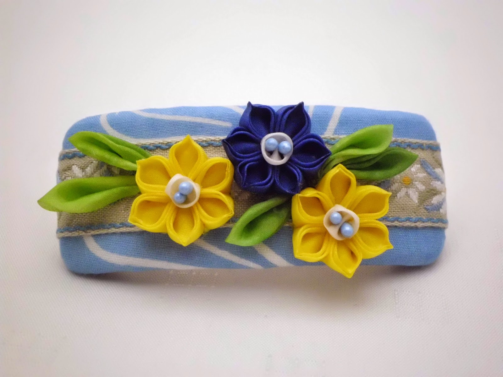 https://www.etsy.com/listing/224916983/hair-barrette-french-barrette-yellow