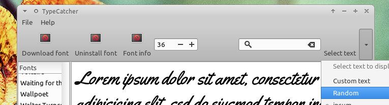 TypeCatcher: Download and Install Google Web Font for Offline Use