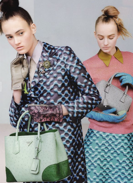 Prada Ad, Vogue September 2015