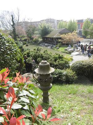Jardin japonais, Toulouse, malooka