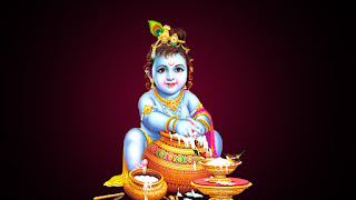 Black Krishna images with quote