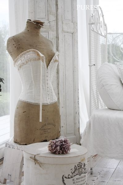 la fabrique d co les mannequins de couture tendance d co vintage. Black Bedroom Furniture Sets. Home Design Ideas