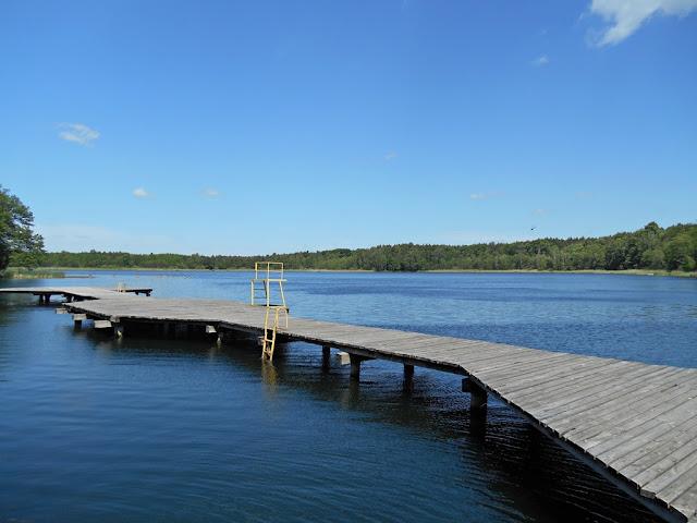 jezioro Liny, wypoczynek, woda, zieleń