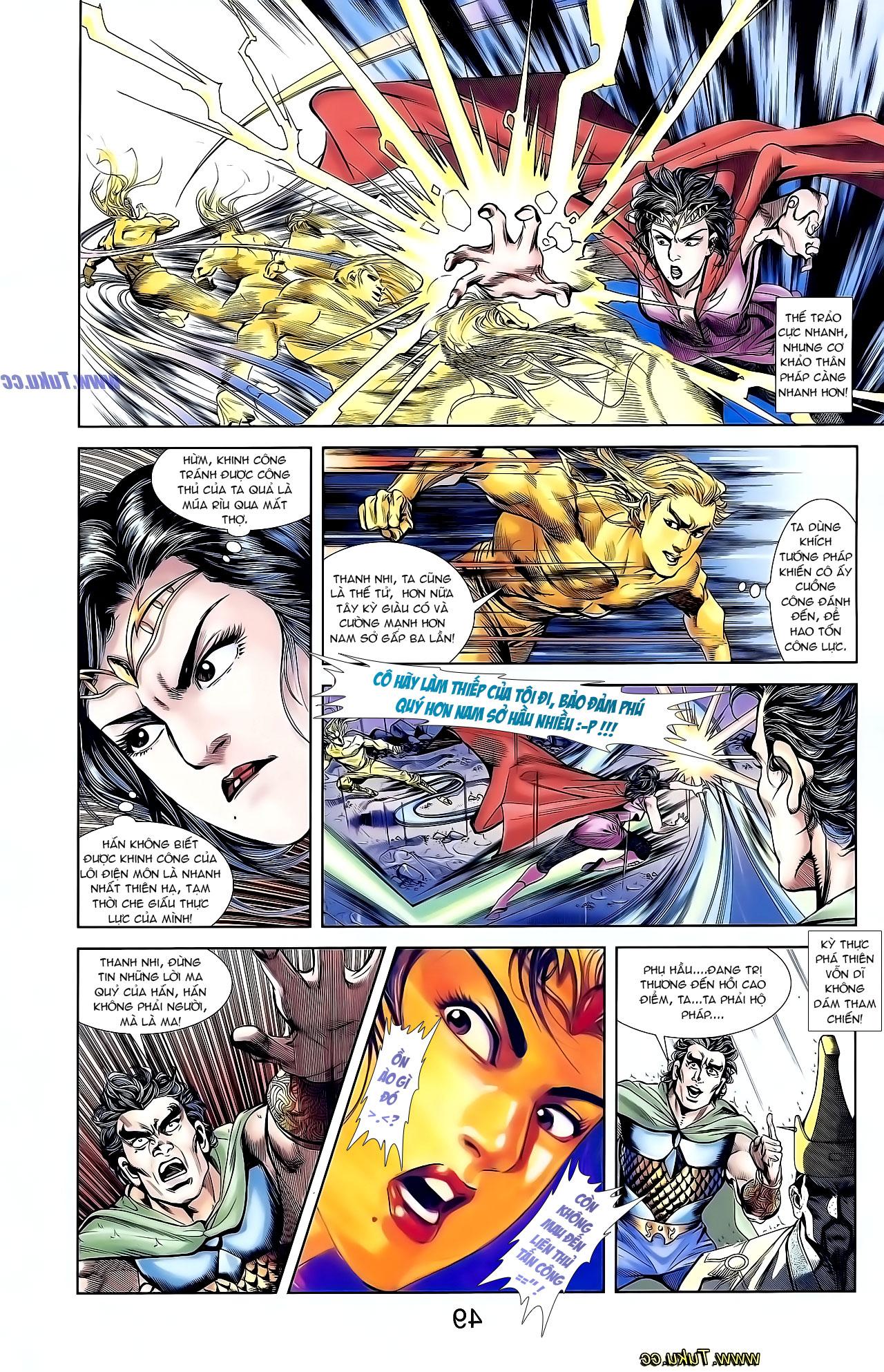 Cơ Phát Khai Chu Bản chapter 130 trang 18