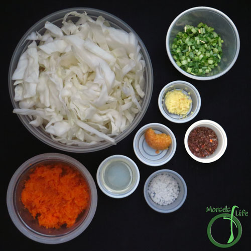 Morsels of Life - Korean Sauerkraut Step 1 - Gather all materials.