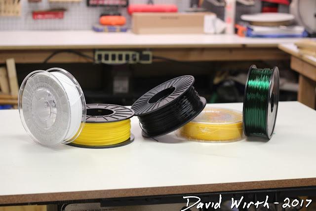 different 3d printer filament, nylon, dry, moisture