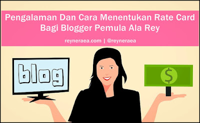cara menentukan rate card blogger