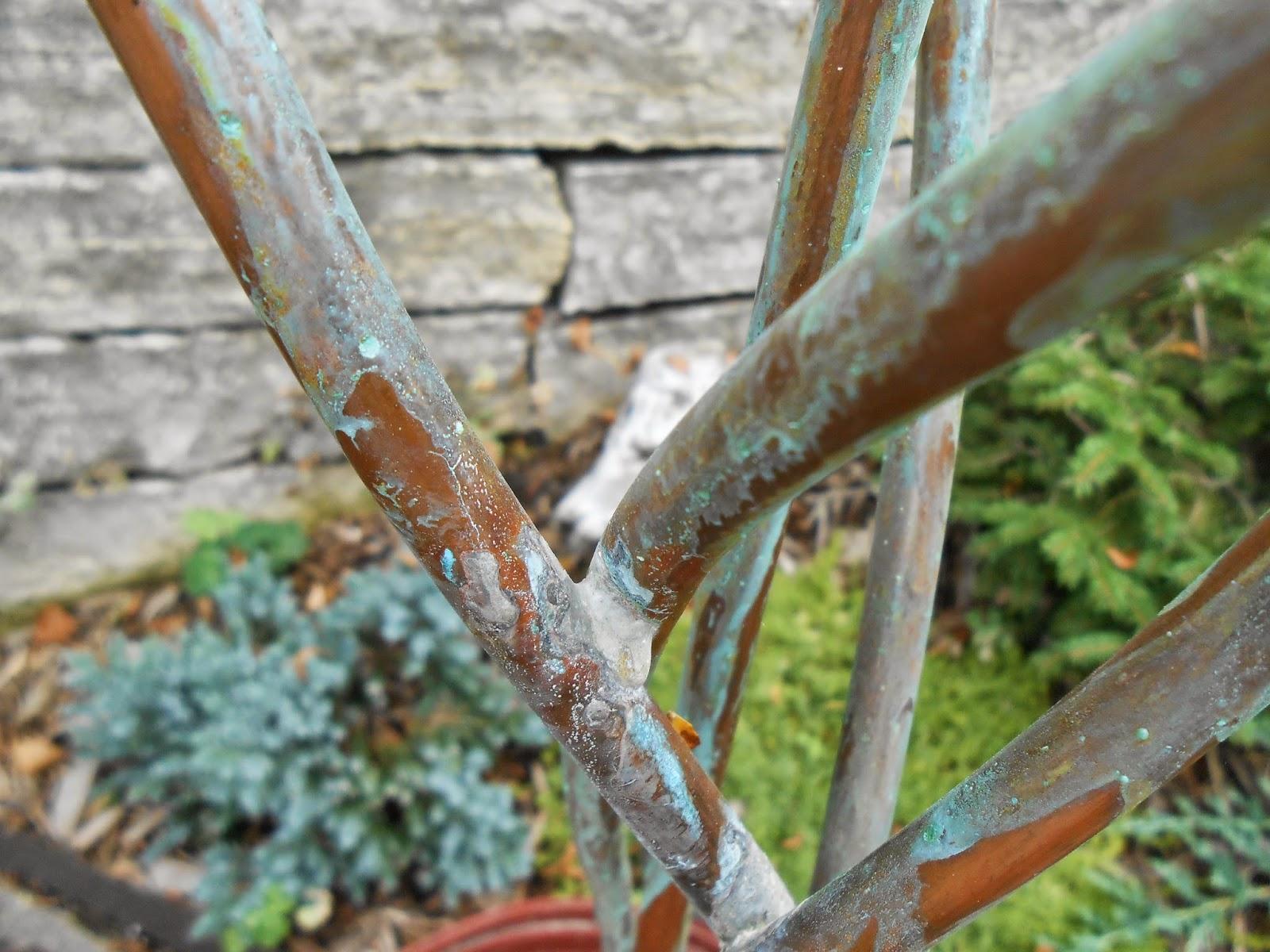 Sproutsandstuff: DIY Copper Garden Art from Copper Tubing