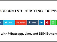 Cara Membuat Share Button Responsive Media Sosial Lengkap di Blog