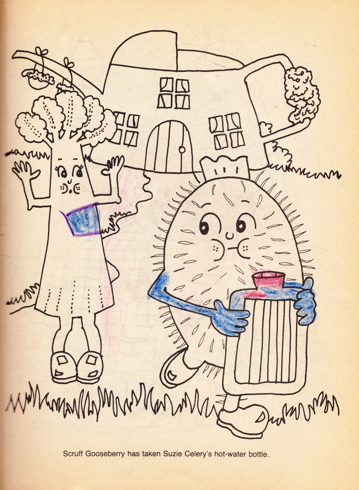 Munch Bunch Story Books: Scruff Gooseberry and the Wishing Well by Giles Reed (Paperback, 1984)