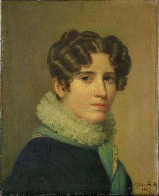 Portrait de Madame Félix Krans ou autoportrait, 1827, Sophie Rude