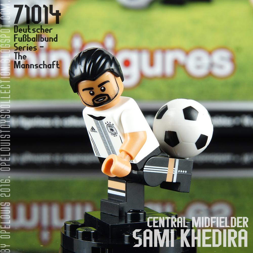 4 Benedikt Höwedes Minifigures 71014 DFB die Mannschaft limited EM 2016 Lego Nr