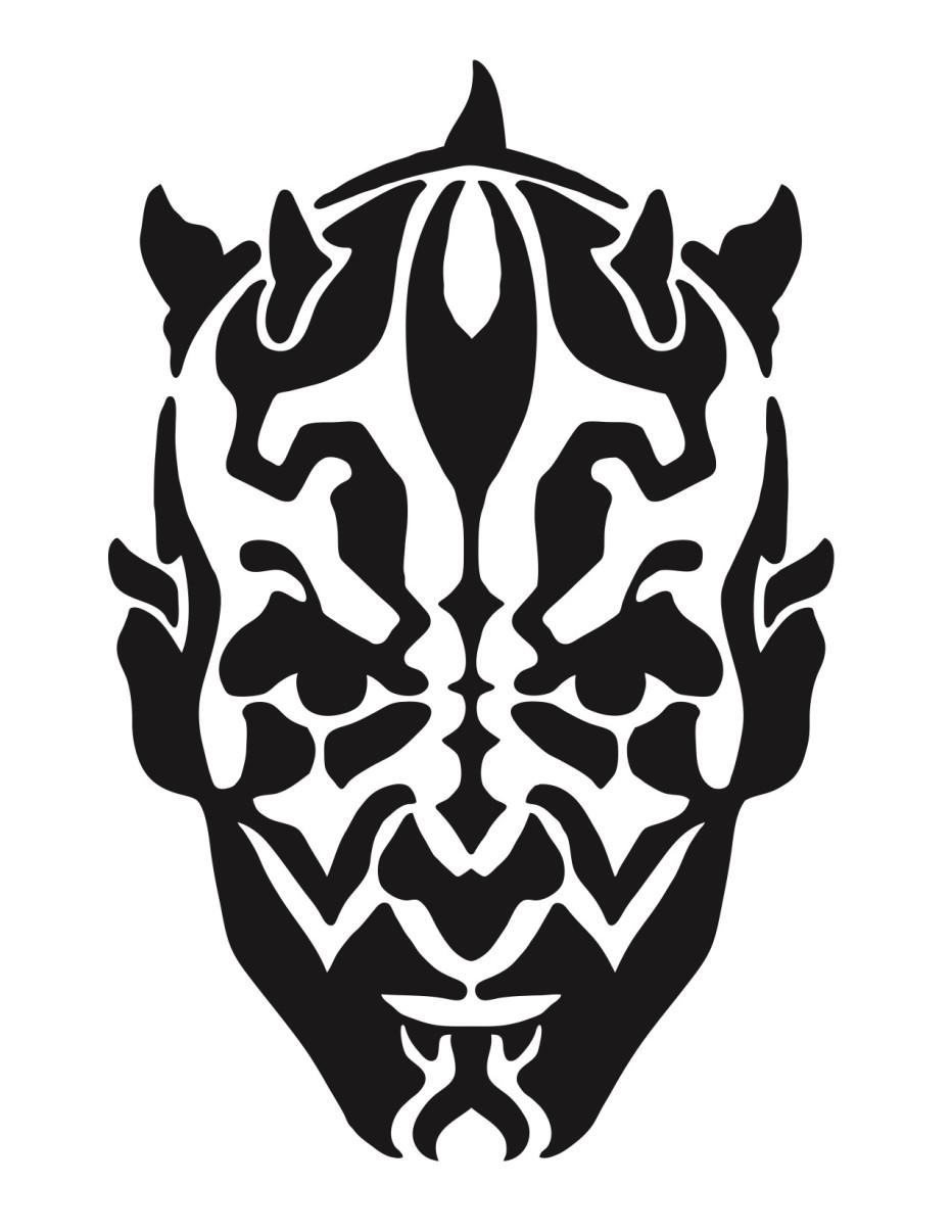 Star wars pumpkin stencils carving pattern outline free