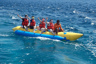 Banana Boat Bersama Murah Kss Bali Tour