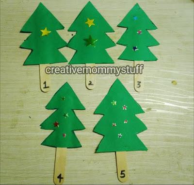 Christmas themed math activity