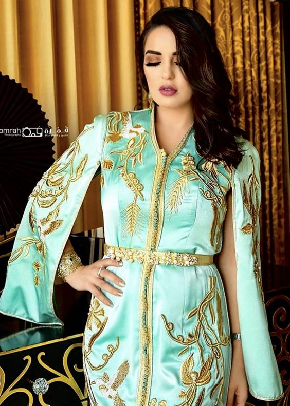 caftan moderne mariage marocain