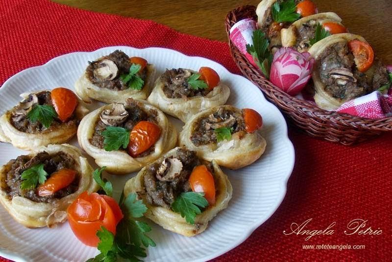 Preparare cusulete cu ciuperci-etapa 10