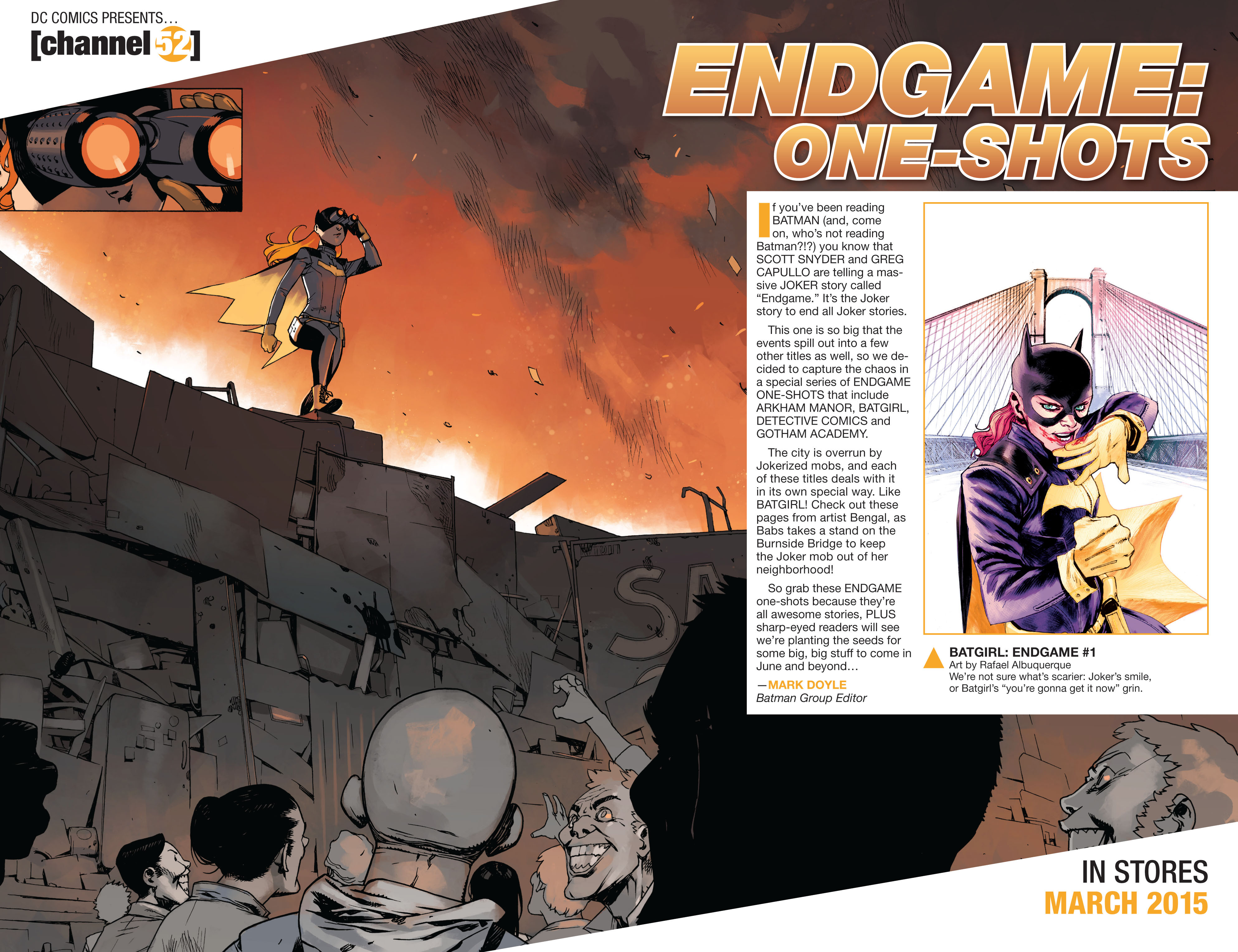 Read online Arkham Manor comic -  Issue #5 - 19