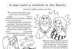 Nombre Del Angel Que Anuncio El Nacimiento De Juan Bautista