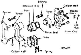 repair-manuals: Mazda All Models 1971-73 Brake Repair Guide