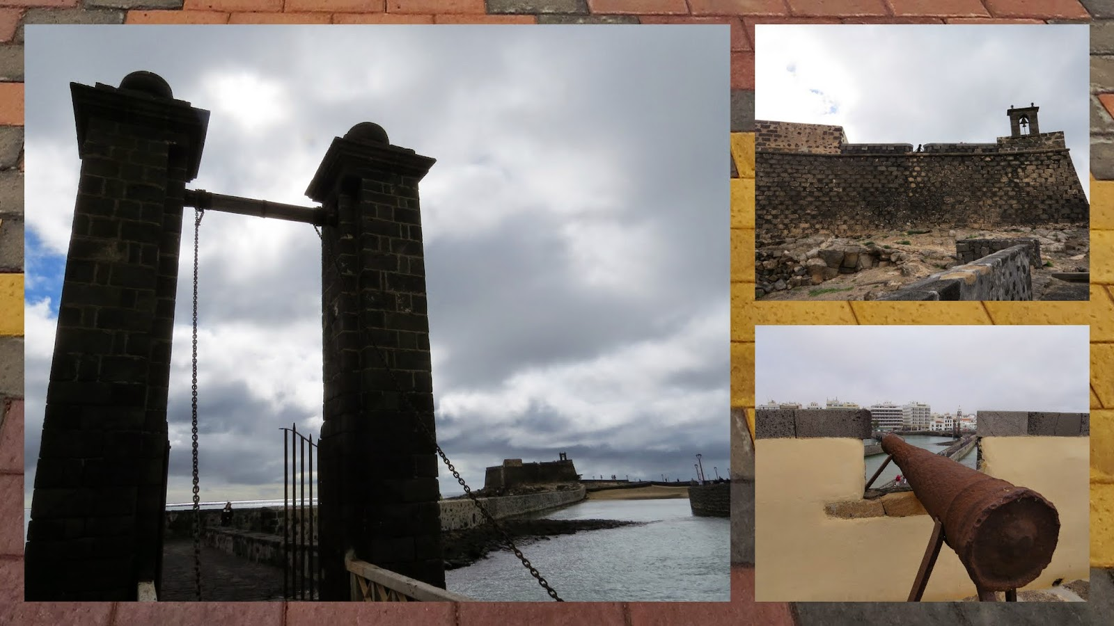 Lanzarote Points of Interest in January: The fort and museum at Arecife on Lanzarote