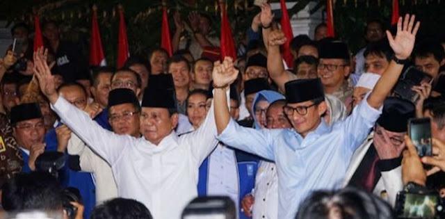 Rekap KPU: Prabowo-Sandi Menang 5,3 Juta Suara Di Jabar