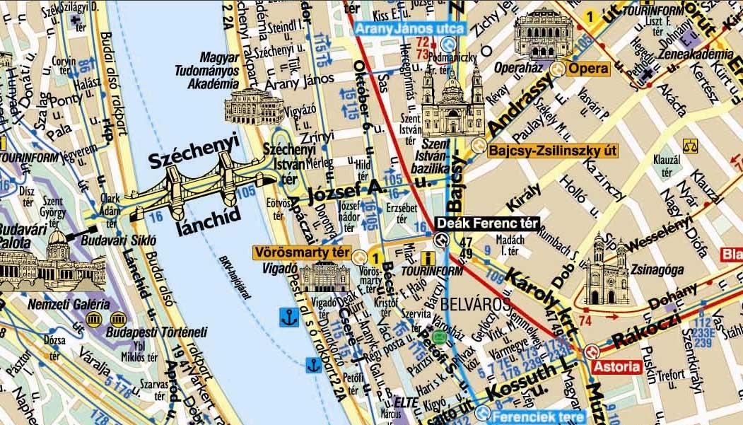 Mapas De Budapeste Hungria Mapasblog