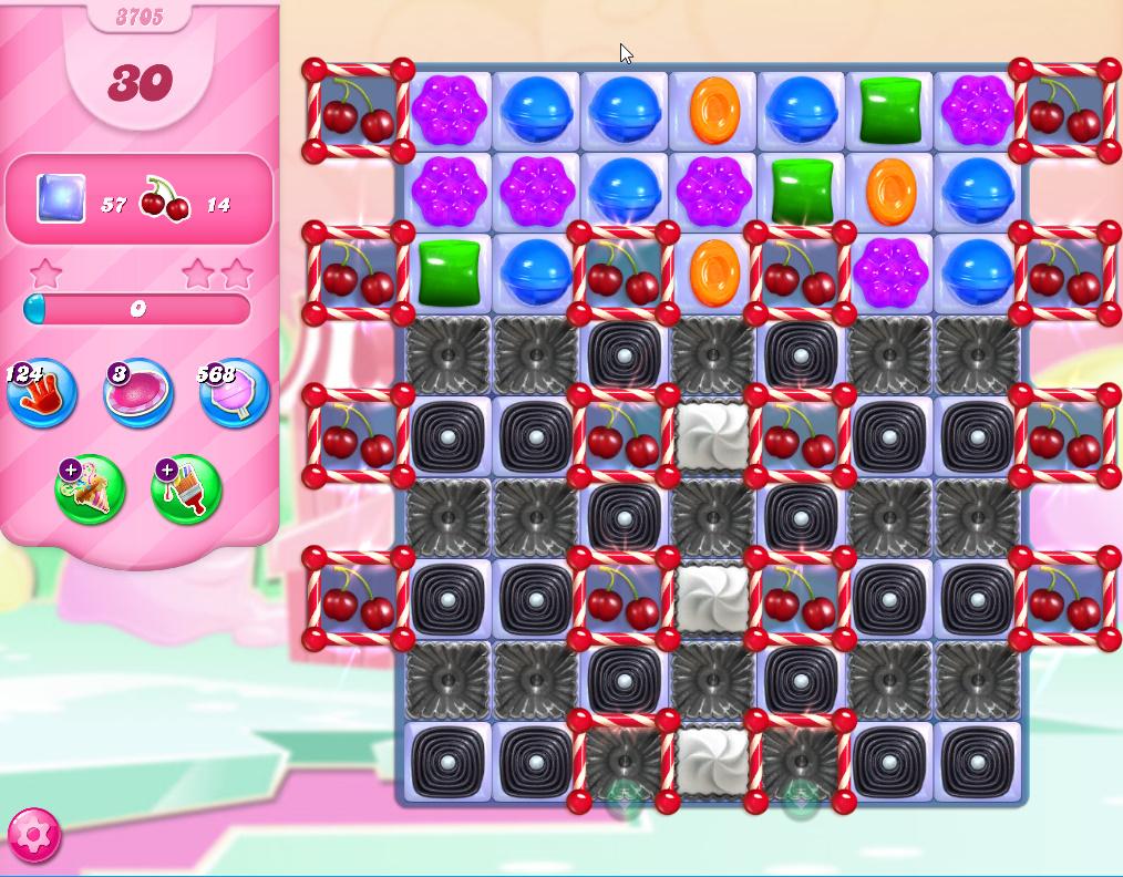 Candy Crush Saga level 3705